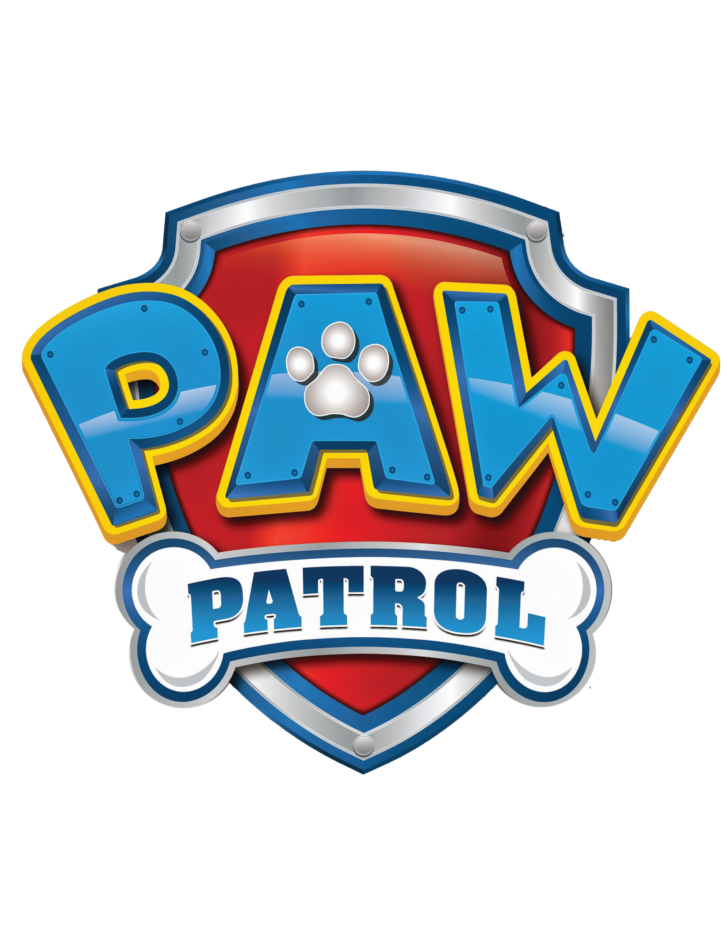 paw patrol childrens nursery wall stickers - well and