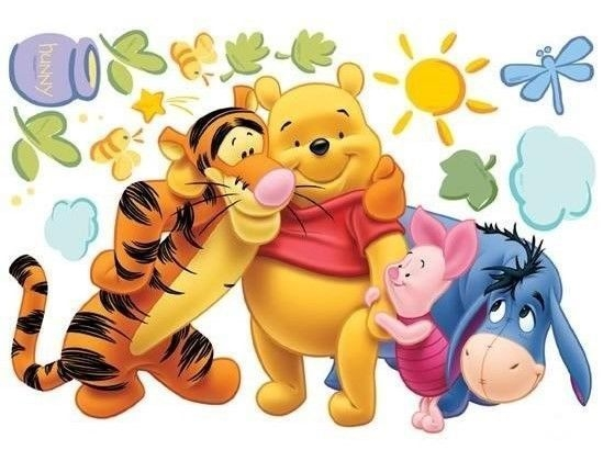 Disney Winnie The Pooh Nursery Childrens Wall Sticker
