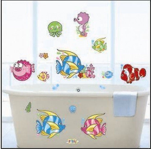 Finding Nemo Clown Fish Style Nursery Childrens Room Wall Sticker ...