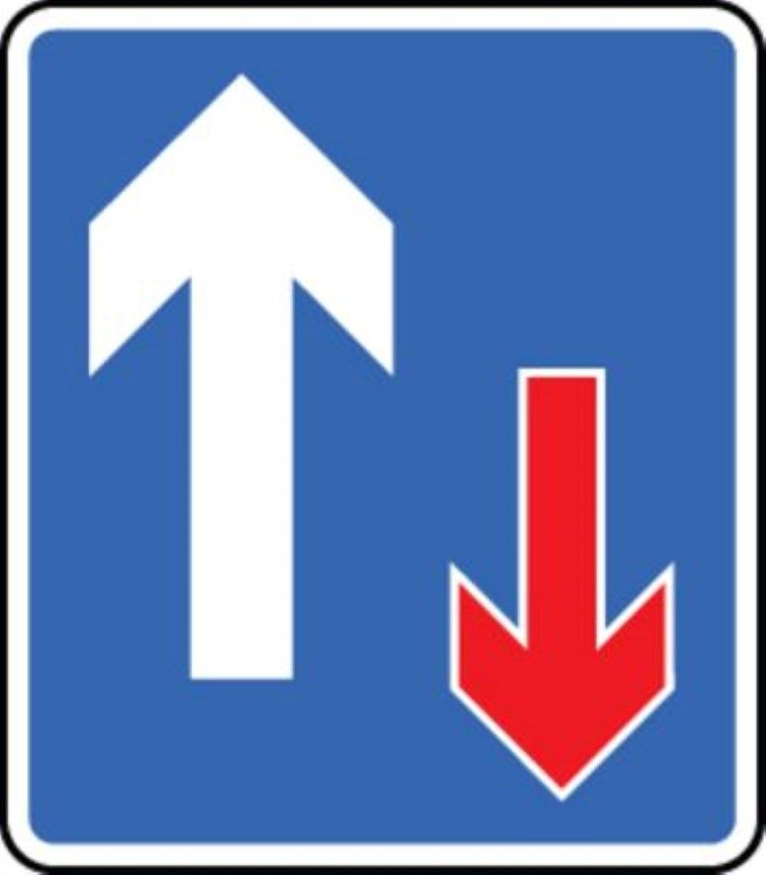 Flowers And Butterflies Wall Stickers Give Way Priority Traffic Road Traffic Warning Sign Self