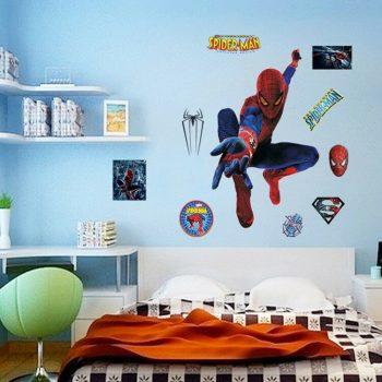 Superheroes Wall Stickers Uk Kamos Sticker - Spiderman wall decals uk